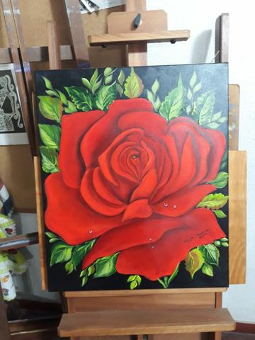 Curso de Pintura - Tecido, óleo e acrílica sobre tela - Foto 3