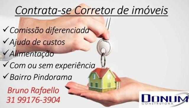 Contrata-se Corretor de imoveis com ou sem experiencia, Belo Horizonte
