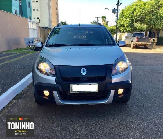 Renault Sandero Stepway 12/12 1.6 manual IPVA 2020 pago - Foto 7
