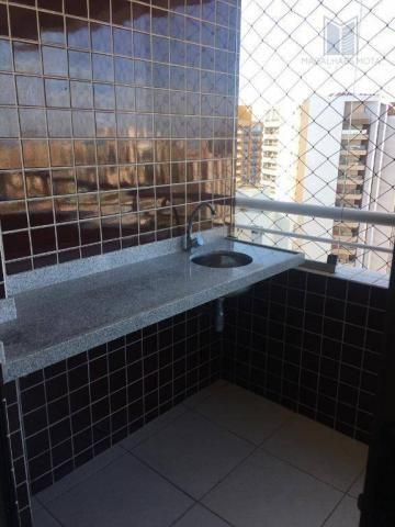 Apartamento com 3 dormitórios à venda, 73 m² por R$ 600.000 - Meireles - Fortaleza/CE - Foto 8