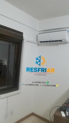 Instalação de ar condicionado split - Foto 6