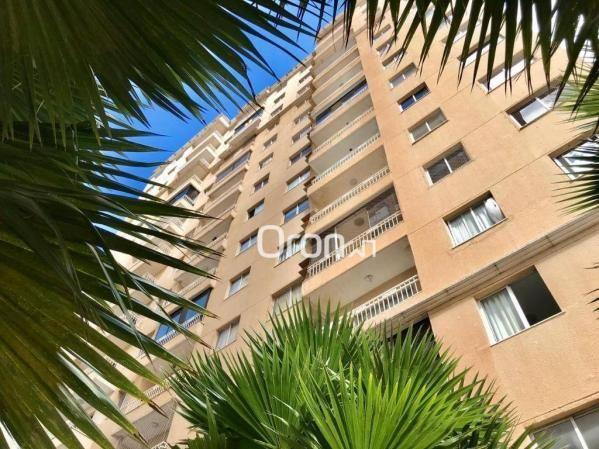 Apartamento com 2 dormitórios à venda, 51 m² por R$ 170.000,00 - Vila Rosa - Goiânia/GO - Foto 2