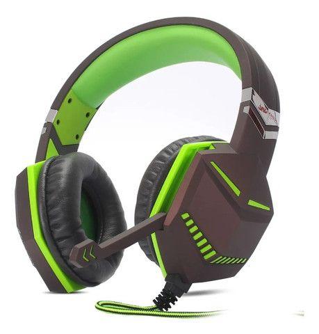 Headset Gamer Pc Fone Ouvido P2 Celular Ps4 Xbox One Note KP433 - Loja Natan Abreu - Foto 4