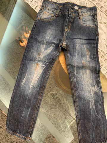 3 calças jeans TAM 2  - Foto 3