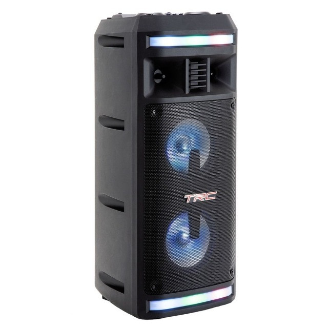 R$690,00 - Caixa De Som Amplificada TRC 335 Bluetooth Usb/Fm/Aux/Mic/TF 200W - Foto 6