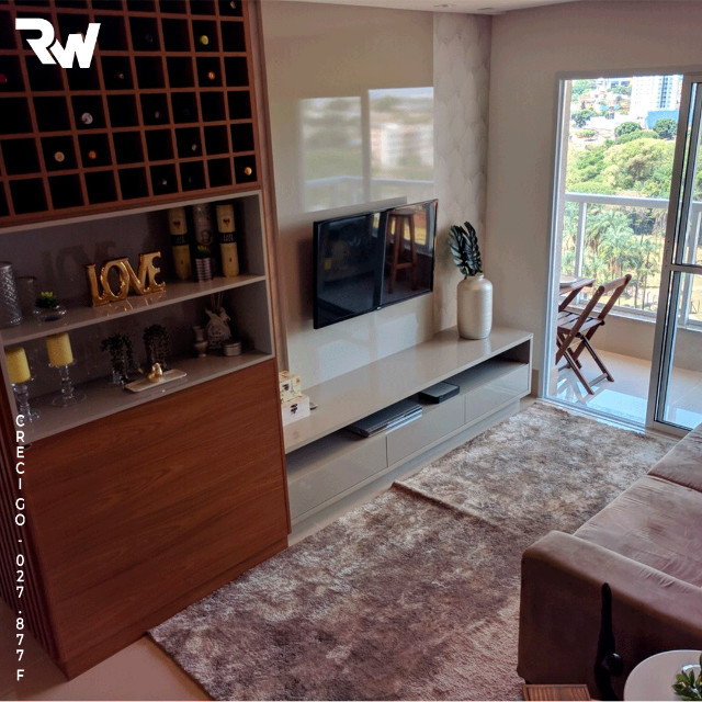 Apartamento 2 quartos sendo 1 suíte na Vila Rosa - Foto 3
