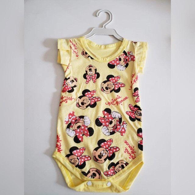 Bodys personalizados Infantis de Algodão com Elastano! - Foto 3