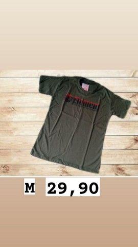 Camisetas masculinas  tamanho M - Foto 6