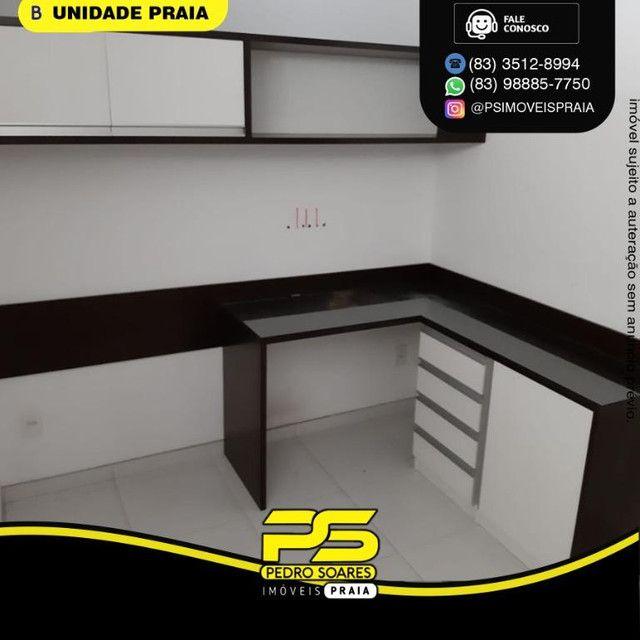 Apartamento com 3 dormitórios para alugar, 78 m² por R$ 3.500,00/mês - Tambaú - João Pesso - Foto 5