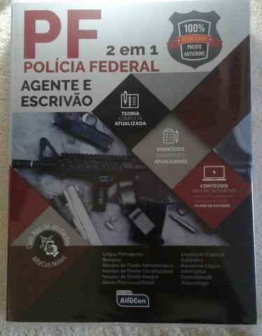 Apostila AlfaCon PF - Agente e Escrivão - Foto 2