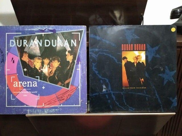 2 LPs\Discos de Vinil - Duran Duran - Arena (1984) e Master Mixes (1988) - Ler...