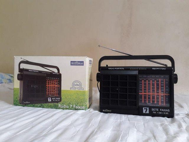 Rádio moto Brás 7faixa valor 300reais.  - Foto 2