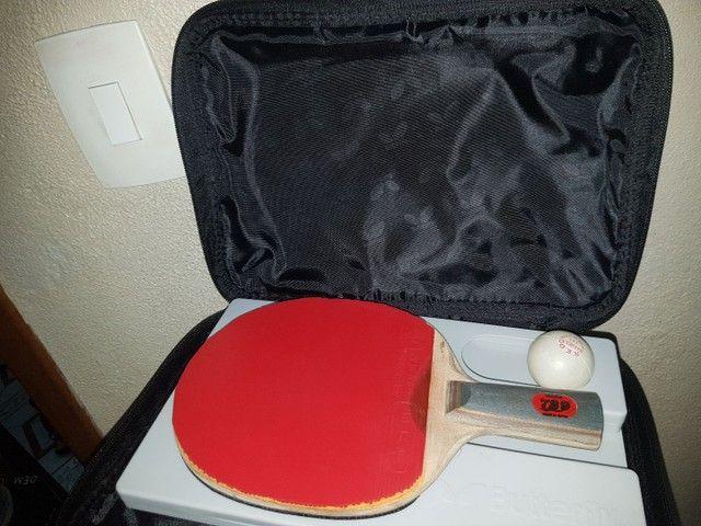 Raquete e case (tênis de mesa) - Foto 2
