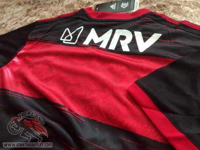 Queima de Estoque Camisa Flamengo 1 2020 Personalize Grátis! - Foto 4