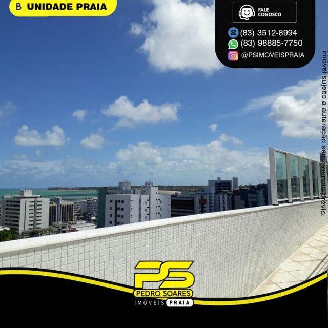 Apartamento com 3 dormitórios para alugar, 78 m² por R$ 3.500,00/mês - Tambaú - João Pesso - Foto 3