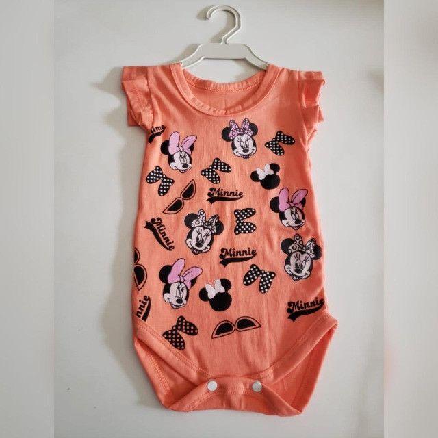 Bodys personalizados Infantis de Algodão com Elastano! - Foto 5