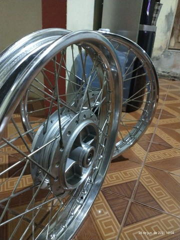 Rodas completas originais Honda - Foto 2
