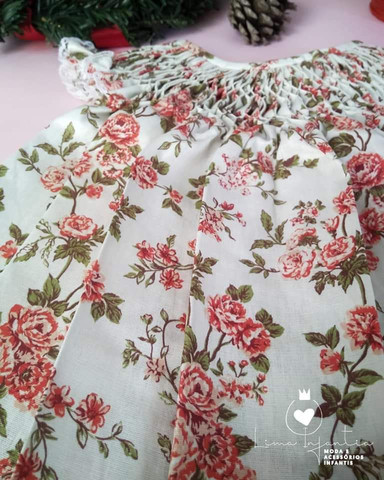 Vestido Casa de Abelha - M (3 a 6 meses) - Foto 2