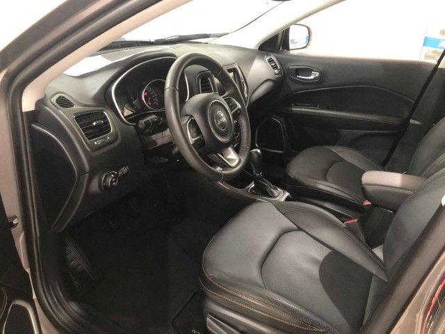 Jeep Compass Longitude 2.0 2018 Cinza 40 mil km - Foto 2