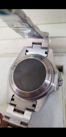 Relógio Rolex Deepsea Gas Escape automático a prova d'água Completo - Foto 5