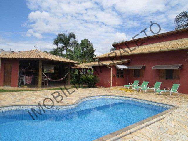 REF 434 Chácara 2200 m², condomínio fechado, área verde nos fundos, Imobiliária Paletó - Foto 2