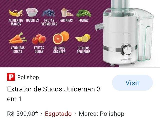 Centrifugadora de sucos  - Foto 2