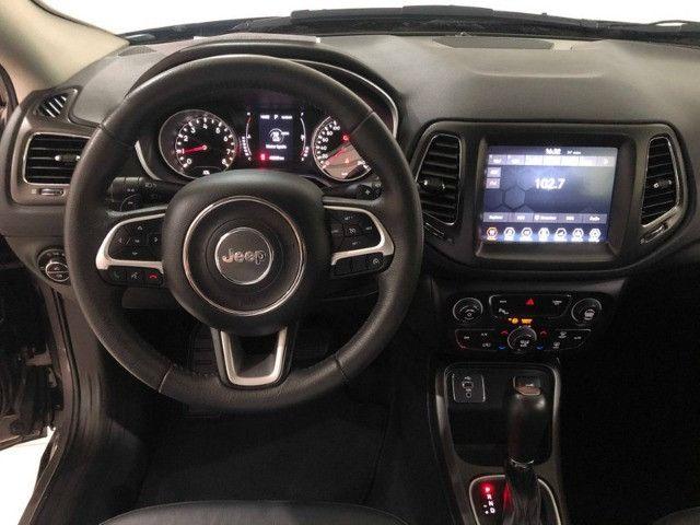 Jeep Compass Longitude 2.0 2018 Cinza 40 mil km - Foto 7