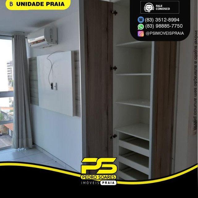 Apartamento com 3 dormitórios para alugar, 78 m² por R$ 3.500,00/mês - Tambaú - João Pesso - Foto 4