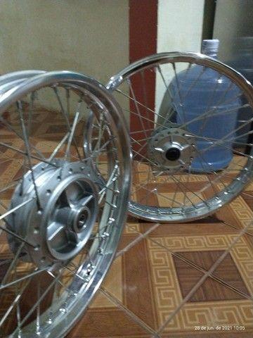 Rodas completas originais Honda - Foto 5