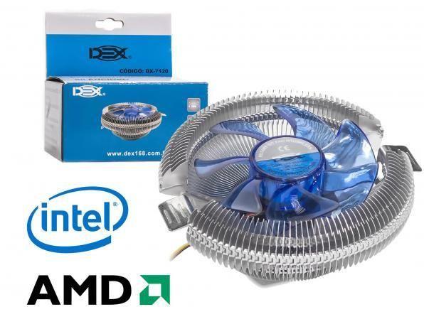 Cooler Universal Cpu Intel Amd 775 1150 1151 1156 I7 Am3 Am2 Am4 - Novo