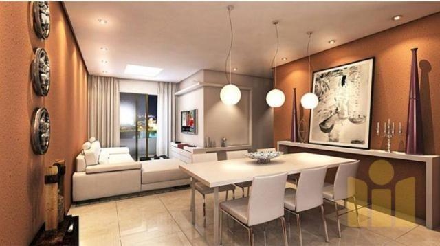 Apartamento com 3 dormitórios à venda, 101 m² por r$ 610.000 - farol - maceió/al - Foto 15