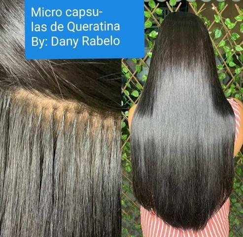 Mega hair ( Implante) E confecçao de nano pele - Foto 4
