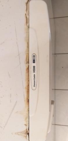 Freezer horizontal 500l electrolux