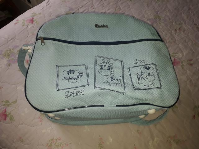 Protetor de berço para menino e bolsa - Foto 6