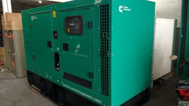 Novo - Gerador à Diesel Trifásico 116 KVA Cummins - C90D6 - 116kva - Foto 4