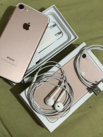 Vendo iPhone 7 rosê - Foto 2