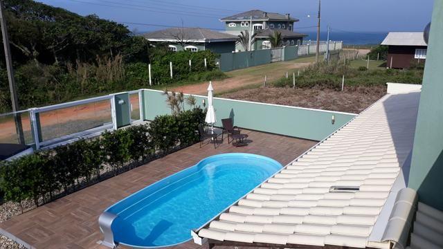 Casa Temporada com Piscina Praia do Ervino SC