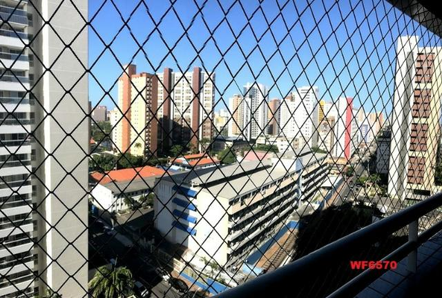 AP0967 Torre Espanha, apartamento na Aldeota, 3 suítes, móveis projetados, 2 vagas - Foto 19