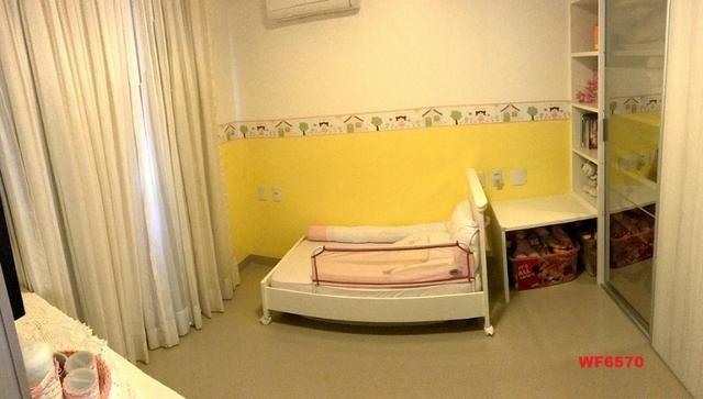 AP0967 Torre Espanha, apartamento na Aldeota, 3 suítes, móveis projetados, 2 vagas - Foto 12