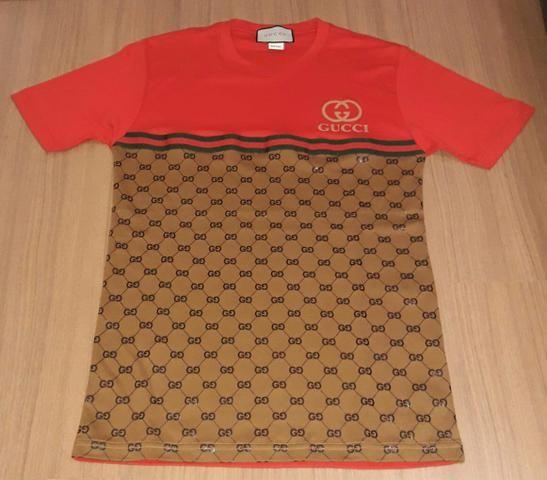84ea827df70d3 Kit com 3 camisetas marcas mcd e gucci masculino - Roupas e calçados ...
