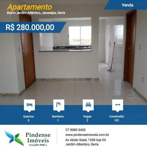 Apartamento em Jacaraípe, 3 quartos