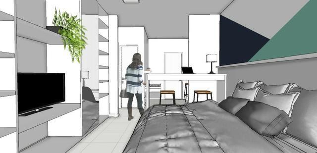 Apartamento no SPOT em frente a Unaerp. Todo mobiliado e com ar condicionado - Foto 3