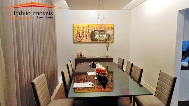 Magnífico sobrado moderno de alto padrão, 4 suítes, completo em armário e salão gourmet - Foto 8