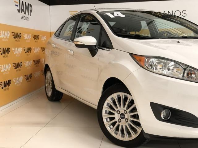 Ford New Fiesta Sed. Titanium 1.6 Powershift Automático 2014 - Foto 4