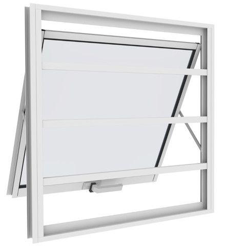 Vitro Maxim ar Aluminio branco com vidro - Foto 2