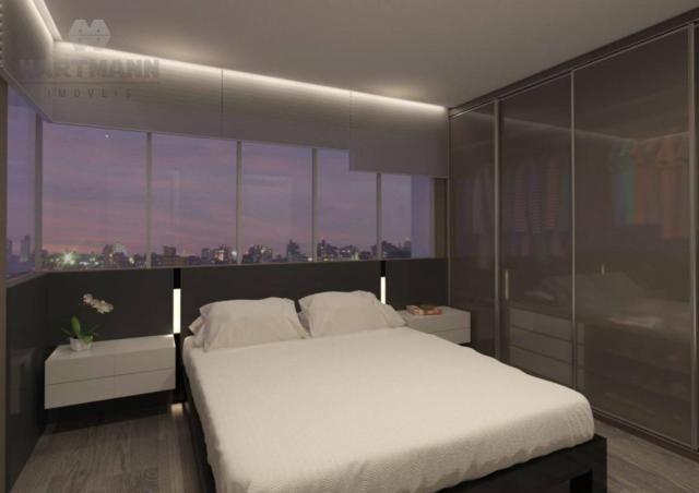 Apartamento com 3 dormitórios à venda por R$ 518.500,00 - Mercês - Curitiba/PR - Foto 16