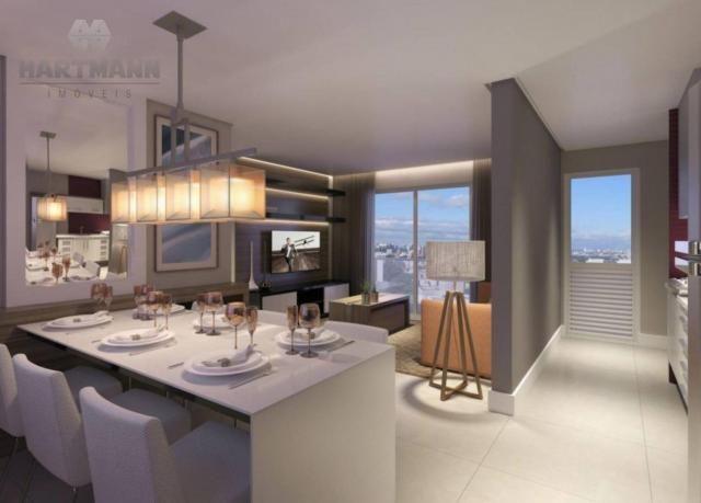 Apartamento com 3 dormitórios à venda por R$ 518.500,00 - Mercês - Curitiba/PR - Foto 14