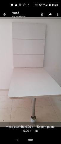 Mesa em MDF madeirado - Foto 3