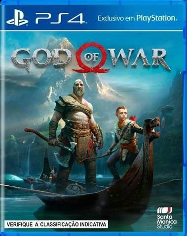 God of War PS4 Primária