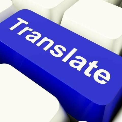 Tradução português - inglês e inglês - português